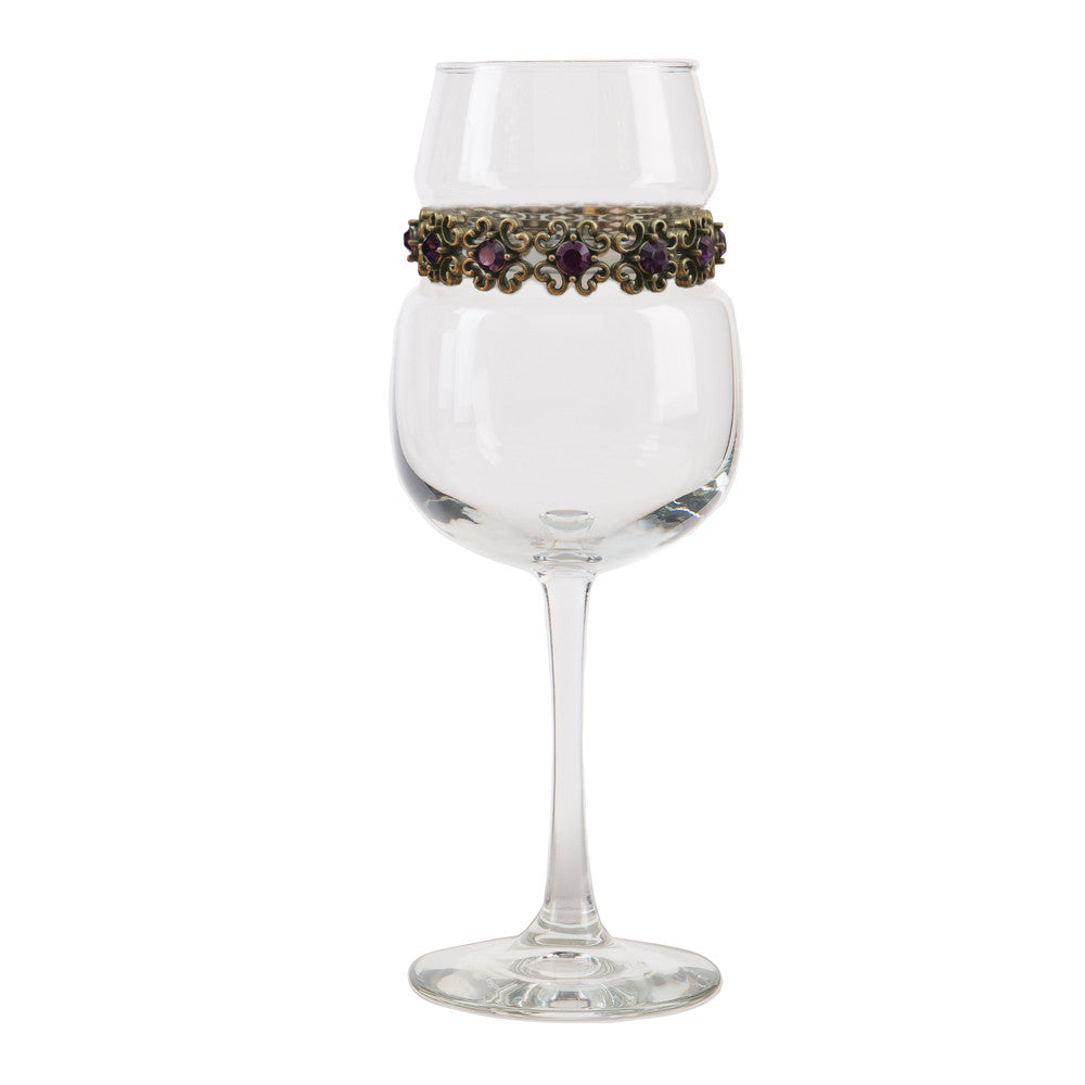 Antique Purple Wine Glass | Wine Glasses | Shimmering Wines