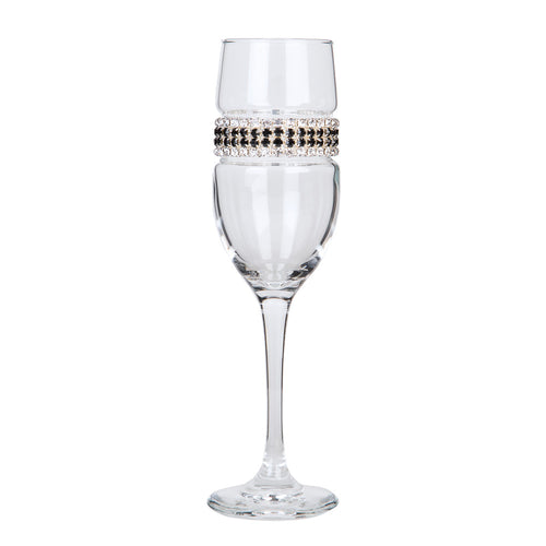 Black Tie Champagne Flute | Champagne Flutes | Shimmering Wines