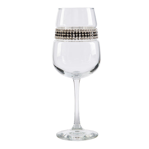 Black Tie Wine Glass | Wine Glasses | Shimmering Wines