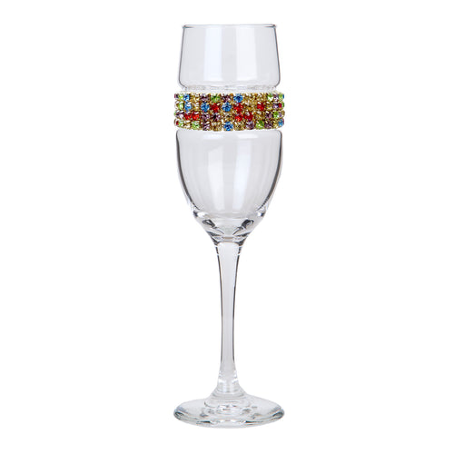 Confetti Champagne Flute | Champagne Flutes | Shimmering Wines