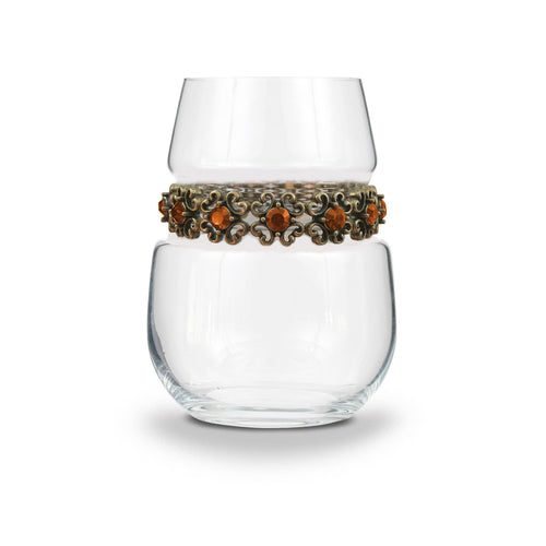 Francesca Stemless Wine Glass | Wine Glasses | Shimmering Wines