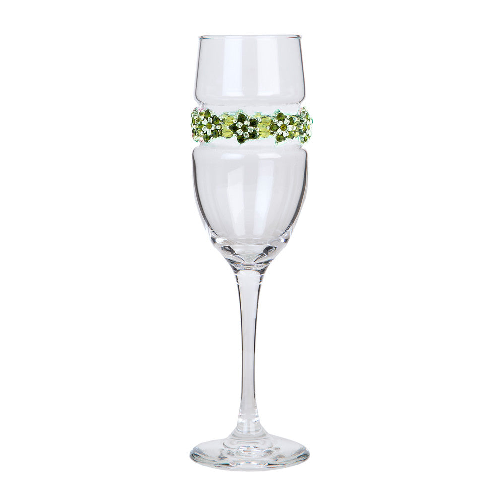 Garden Party Champagne Flute | Champagne Flutes | Shimmering Wines