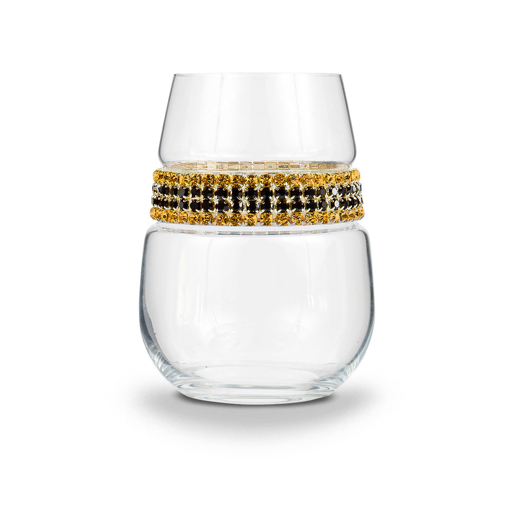 Gold Coast Stemless Wine Glass | Stemless Wine Glass | Shimmering Wines