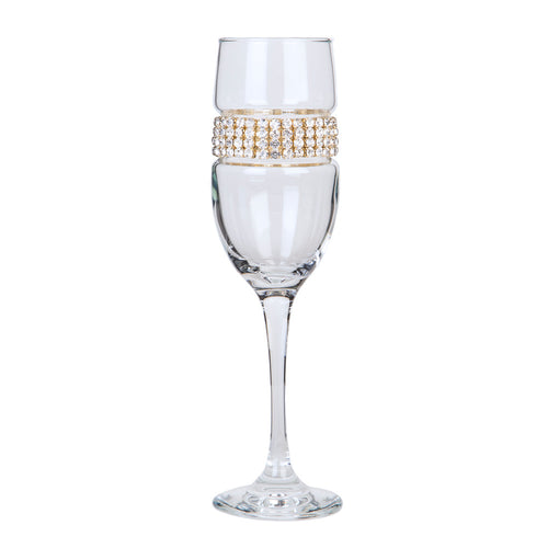 Gold Champagne Flute | Champagne Flutes | Shimmering Wines