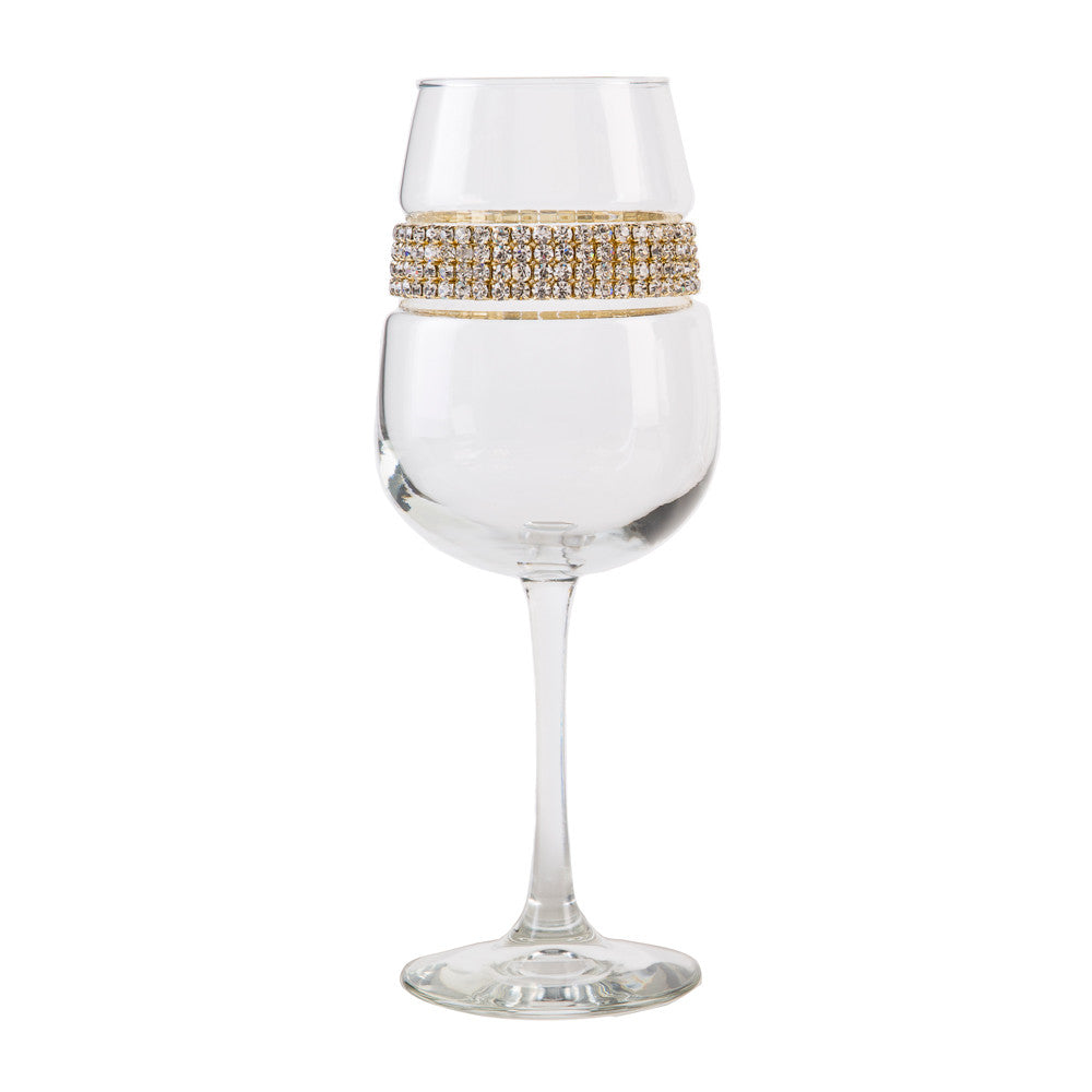 Gold Wine Glass | Wine Glasses | Shimmering Wines