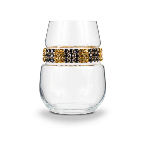 Monte Carlo Stemless Wine Glass | Stemless Glasses | Shimmering Wines