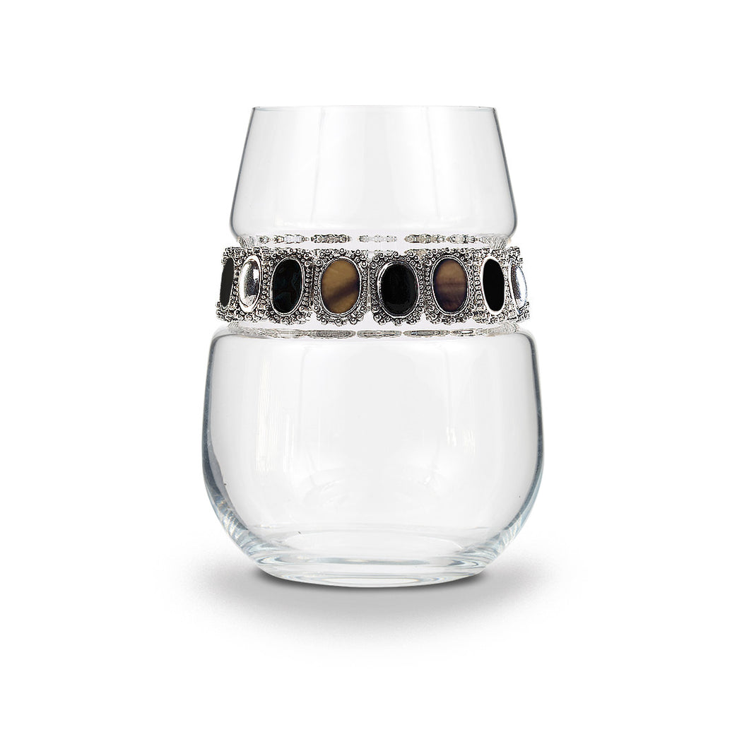 Painted Desert Stemless Wine Glass | Stemless Glass | Shimmering Wines