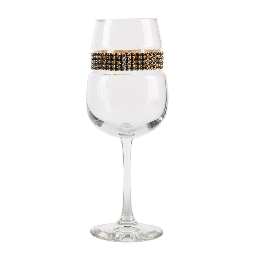 Raven Gold Wine Glass | Wine Glasses | Shimmering Wines