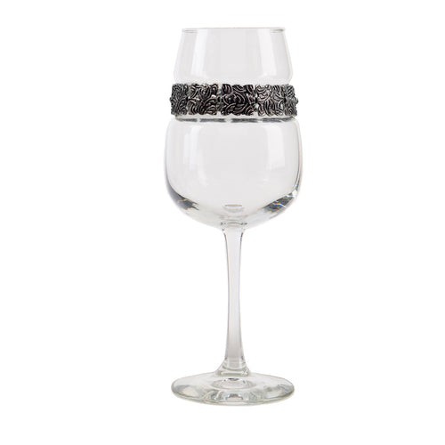 Vintage Silver Wine Glass | Wine Glasses | Shimmering Wines
