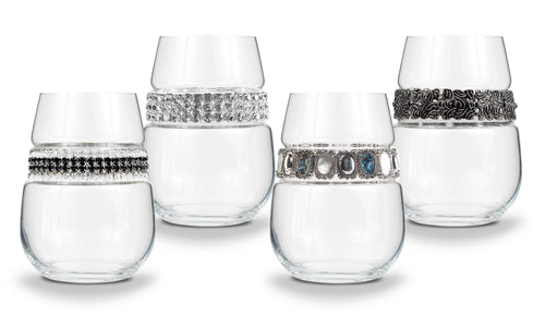 Silver Stemless Party Pack