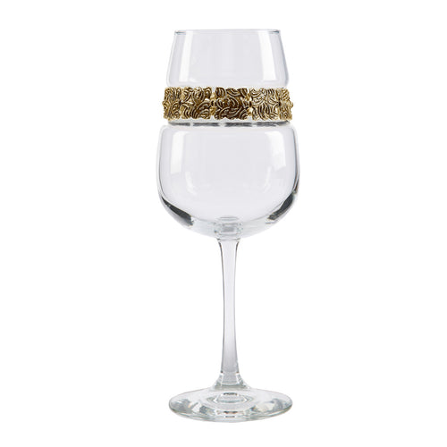 Vintage Gold Wine Glass | Wine Glasses | Shimmering Wines