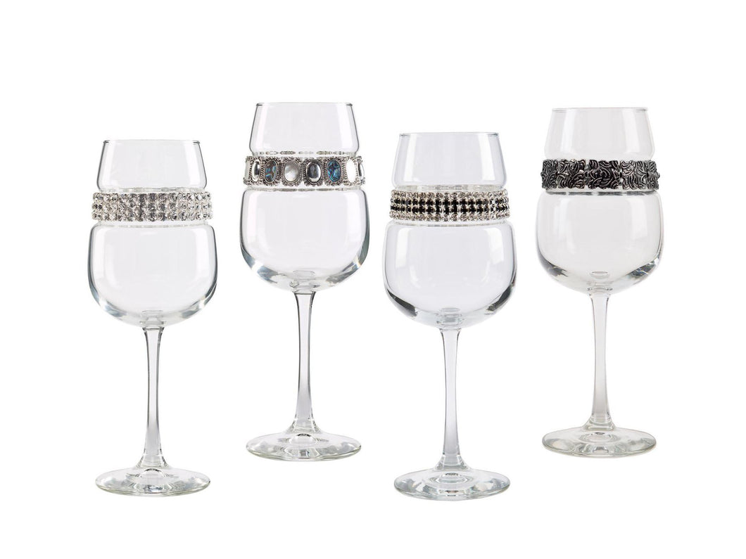 Silver Collection Wine Glasses