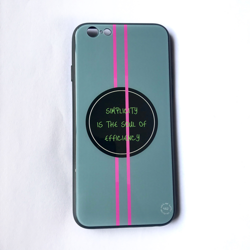 'Simplicity Is The Soul Of Efficiency' - iPhone 6/6s case