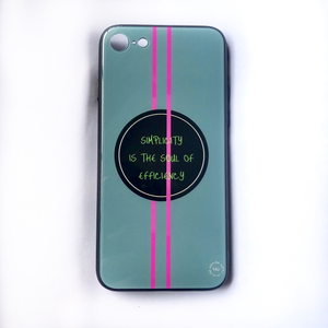 'Simplicity Is The Soul Of Efficiency' - iPhone 7/8 case