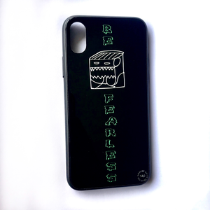 'Be Fearless' - iPhone X case