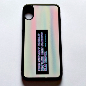 'Your Life Isn't Yours If You Care What Someone Else Thinks' - iPhone X case