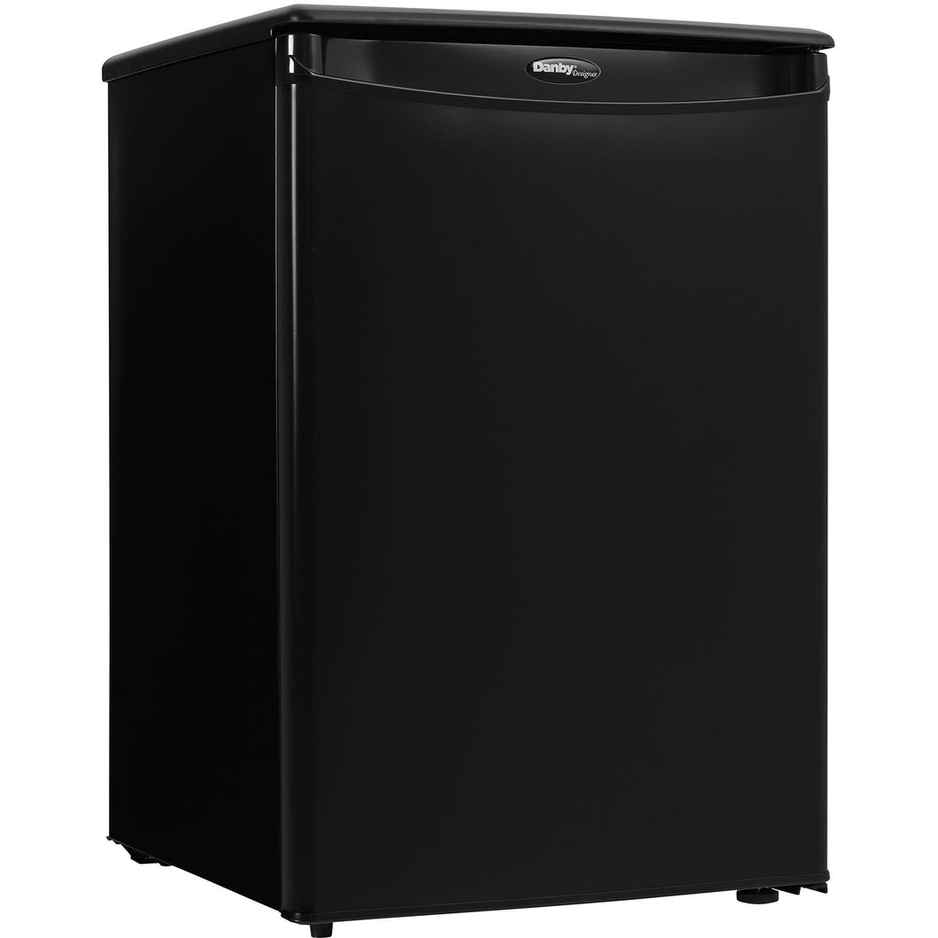 DAR026A1BDD - Danby 2.6 CF Refrigerator Black - Front Left Angle - Danby Appliances