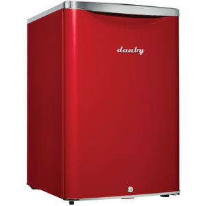 DAR026A2LDB - Danby 2.6 CF Contemporary Classic Refridgerator Red - Danby Appliances