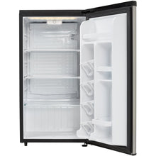 Load image into Gallery viewer, DAR033A6BSLDB - Danby 3.3 CF Refrigerator Black and Stainless Look - Open Door Empty - Danby Appliances
