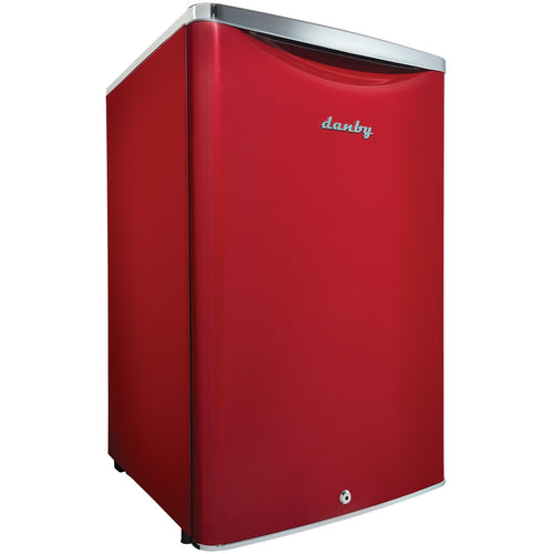 DAR044A6LDB - Danby 4.4 CF Contemporary Classic Refrigerator Red - Danby Appliances