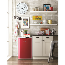 Load image into Gallery viewer, DAR044A6LDB - Danby 4.4 CF Contemporary Classic Refrigerator Red - Danby Appliances