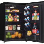 DAR044A8BBSL - Danby 4.4 CF Refrigerator BLK SS Look - Open Door - Danby Appliances