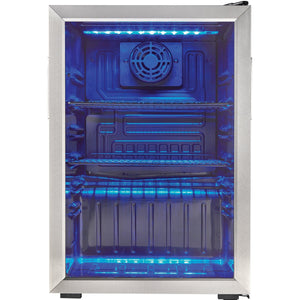 DBC026A1BSSDB - Danby 2.6 CF Beverage Center - Front Shot Empty - Danby Appliances