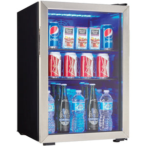 DBC026A1BSSDB - Danby 2.6 CF Beverage Center - Front Shot - Danby Appliances
