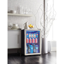 Load image into Gallery viewer, DBC026A1BSSDB - Danby 2.6 CF Beverage Center - Setting Shot - Danby Appliances