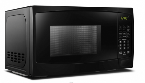 DBMW0720BBB- Danby 0.7 cuft Black Microwave - Front Angle