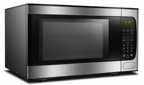 DBMW0924BBS- Danby 0.9 cuft Microwave with Stainless Steel front - front facing view