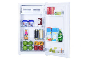 DCR033B1WM - Danby Diplomat 3.3 cu. ft. Compact Refrigerator - front image with door open and products inside