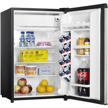 Load image into Gallery viewer, DCR044A2BSLDD - Danby 4.4 CF Compact Refrigerator BLK SS Look - Danby Appliances
