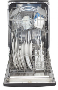 "DDW1802EBLS - Danby 18"" Built-In Dishwasher Black SS - Danby Appliances"