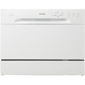DDW621WDB - Danby Countertop Dishwasher White - Danby Appliances