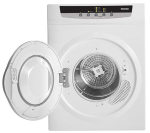 DDY060WDB-SD - Danby 13.2 lb Dryer DDY060WDB White Blemished* Front Open Empty