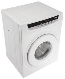 DDY060WDB-SD - Danby 13.2 lb Dryer DDY060WDB White Blemished* - High Right Angle