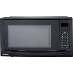 DMW07A4BDB - Danby 0.7 CF Microwave  Black - Danby Appliances