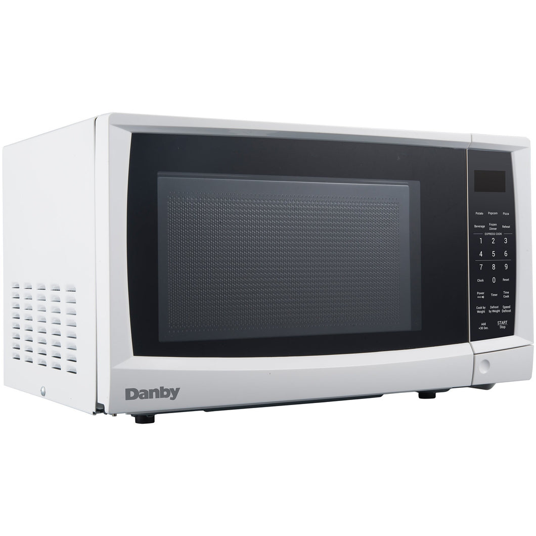 DMW07A4WDB - Danby 0.7 CF Microwave White - Danby Appliances