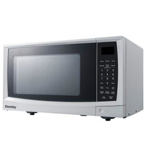 DMW09A2WDB - Danby 0.9 CF Microwave White - Left Angle