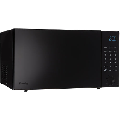 DMW11A4BDB - Danby 1.1 CF Nouveau Wave Microwave Black - Danby Appliances