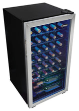 Load image into Gallery viewer, DWC036A1BSSDB-6 - Danby 36 Bottle Wine Cooler - High Angle Shot