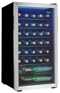 DWC036A1BSSDB-6 - Danby 36 Bottle Wine Cooler - Front Right