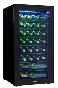 DWC036A2BDB-6 - Danby 36 Bottles Storage Wine Cooler - Front Right