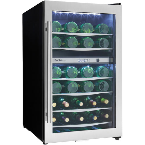 DWC040A3BSSDD - Danby 38 Bottle Wine Cooler - Front
