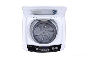 DWM030WDB-6 - Danby Compact 0.9 Cubic Foot Top Load Washing Machine For Apartment - White - Approve looking in shot