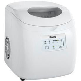 DIM2500WDB - Danby Compact Ice Maker White - Danby Appliances