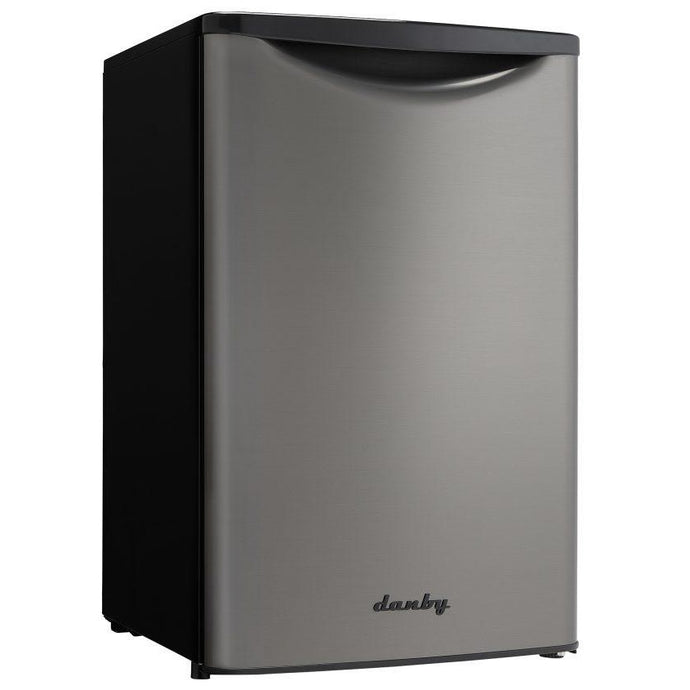 DAR044A8BBSL-SD - Danby 4.4 CF Refrigerator BLK SS Look Scratch and Dent* - Danby Appliances