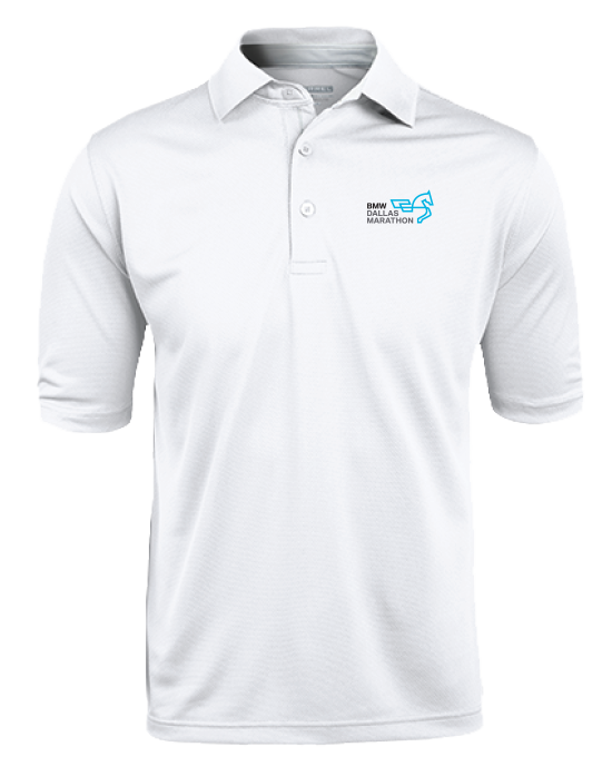 Men's Marathon Polo (White)