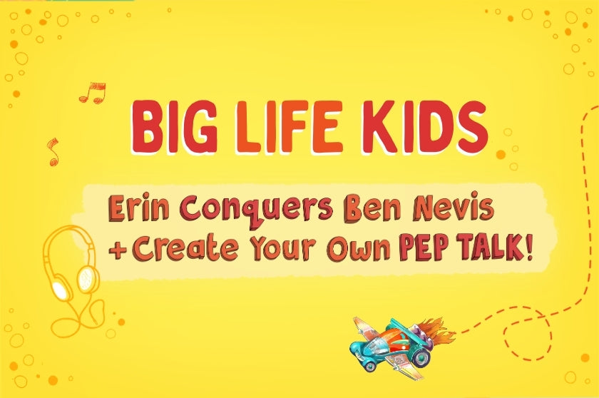 Erin Conquers Ben Nevis + Create Your Own PEP TALK!